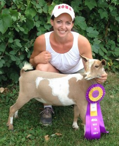 Best Junior Doe in Show- Castle Rock Breakin My Heart August 2014